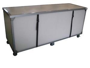 クリーンルーム対応の大型通い箱