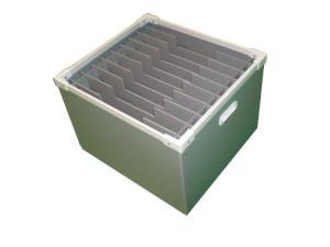 板状板金部品の通い箱
