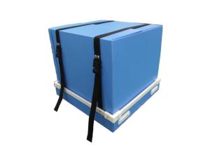 簡単に梱包できる通い箱