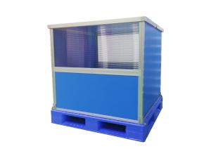 自動倉庫対応のボックスパレット製作事例