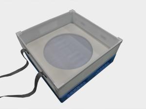 パレット付き通い箱のオーダーメイド製作事例